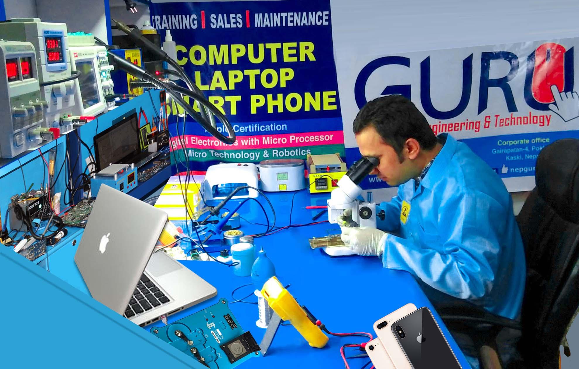 Laptop Repair Services kathmandu Nepal
